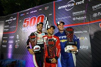 Equipe Spirit Sports, formada por pilotos argentinos como Matias Rossi, também subiu no pódio
