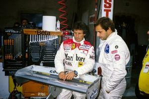 Mario Andretti with Elio de Angelis