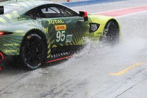 #95 Aston Martin Racing Aston Martin Vantage AMR: Gabriel Aubrey, Andrew Watson, Thomas Canning, Ross Gunn, Lasse Sorensen