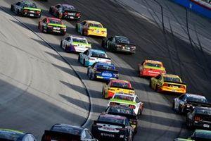 Renn-Action auf dem Texas Motor Speedway in Fort Worth