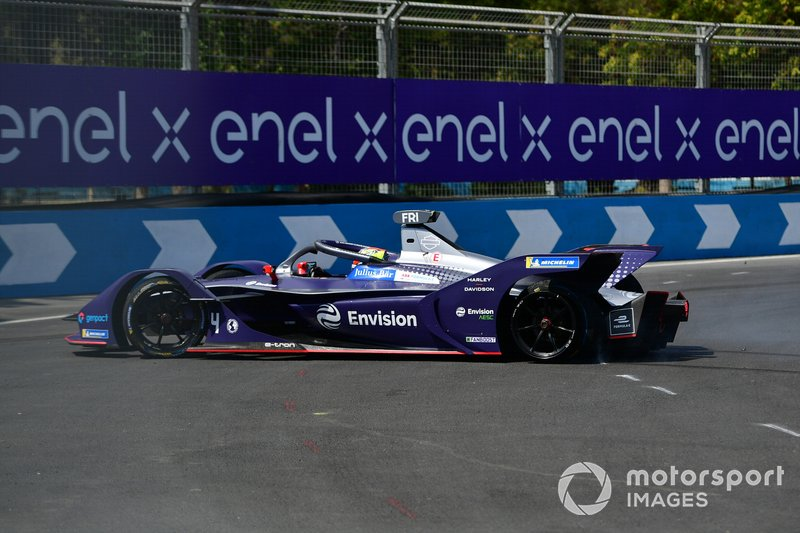 Robin Frijns, Virgin Racing, Audi e-tron FE06, spins