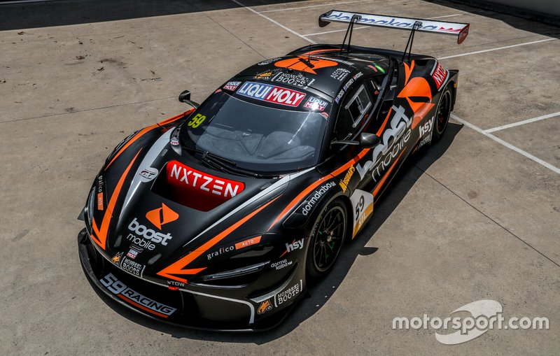 Fraser Ross, Dominic Storey, and Martin Kodric, 59Racing McLaren 720S GT3