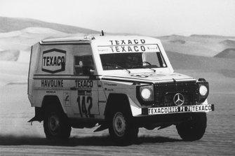 Jacky Ickx, Claude Brasseur (Mercedes-Benz 280 GE