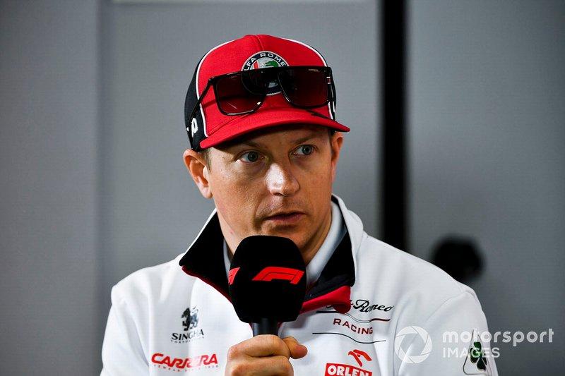#9: Kimi Räikkönen (Alfa Romeo) - 1,70 Millionen Follower