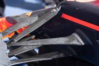 Red Bull Racing RB15 suspension detail