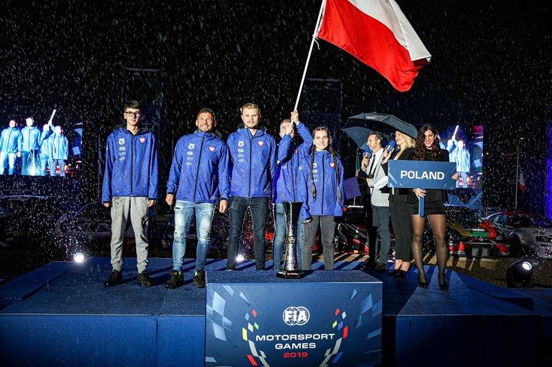 Equipo de Polonia