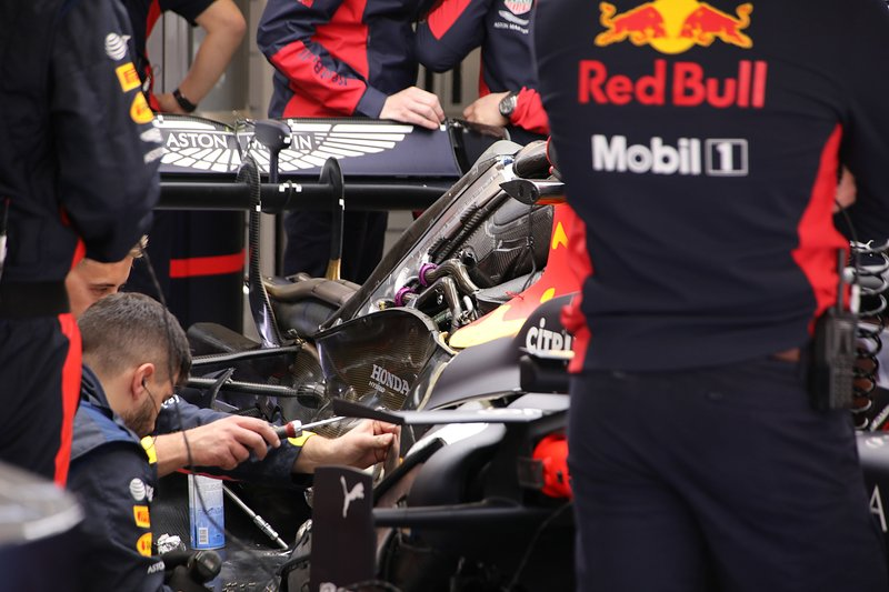 Red Bull Racing RB 16 engine