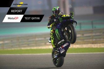 Copertina Report MotoGP Test Qatar