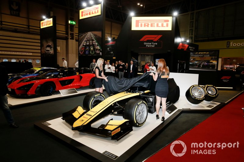 Pirelli presenta sus neumáticos F2 de 18 pulgadas para 2020