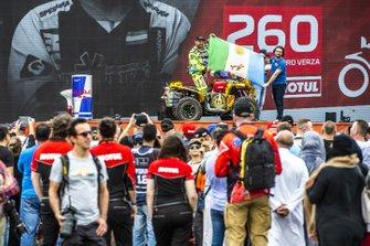 Карлос Алехандро Верса, Verza Rally Team, Yamaha 099-Renegade X XC 850 (№260)