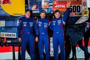 #500 Team KAMAZ Master: Eduard Nikolaev, Evgenii Iakovlev, Vladimir Rybakov
