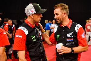 Руководитель команды Monster Energy Honda Team Рубен Фариа