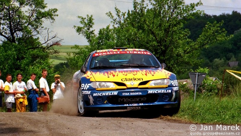 Nejat Avci , Erkan Bodur, Renault Mégane Maxi, Rajd Polski 1998