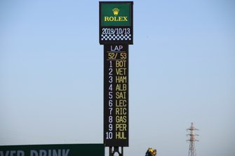 Torre de posiciones del Circuito de Suzuka