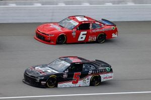 Matt Mills, B.J. McLeod Motorsports, Toyota Supra J.F. Electric, Ryan Vargas, JD Motorsports, Chevrolet Camaro TeamJDMotorsports.com