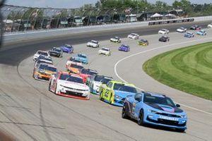 A.J. Allmendinger, Kaulig Racing, Chevrolet Camaro RAMCO Specialties Inc., Austin Cindric, Team Penske, Ford Mustang Menards/NIBCO