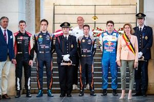 Elfyn Evans, Toyota Gazoo Racing WRT, Thierry Neuville, Martijn Wydaeghe, Hyundai Motorsport Hyundai i20 Coupe WRC, Adrien Fourmaux, M-Sport Ford WRT