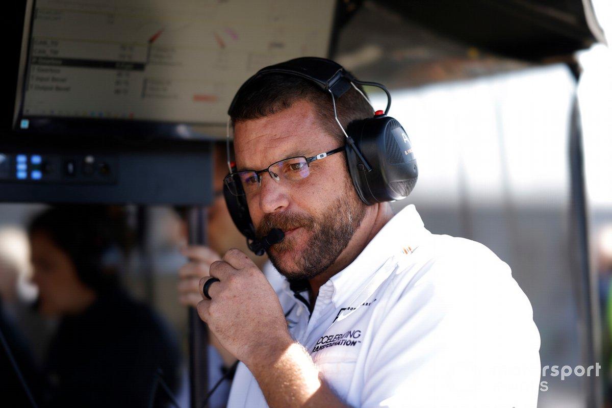 Billy Vincent, Arrow McLaren SP Chevrolet