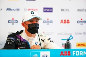 Jake Dennis, BMW I Andretti Motorsport, first position, in the Press Conference