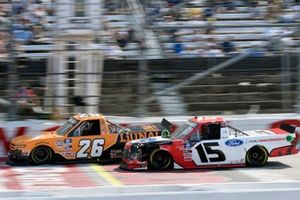 Tyler Ankrum, GMS Racing, Chevrolet Silverado LiUNA! and Tanner Gray, Team DGR, Ford F-150 Ford Performance