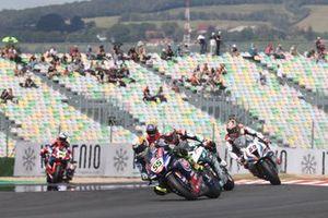Andrea Locatelli, PATA Yamaha WorldSBK Team, Chaz Davies, Team GoEleven, Michael van der Mark, BMW Motorrad WorldSBK Team