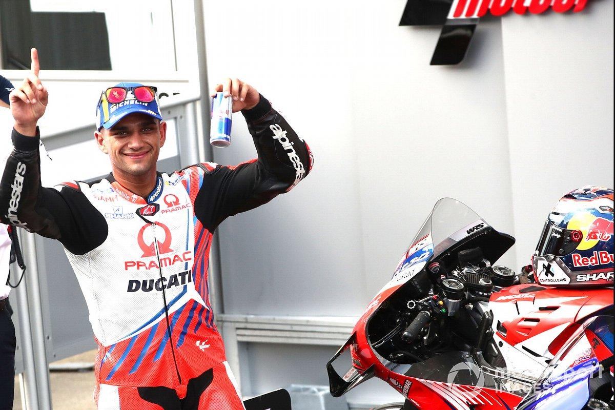 Polesitter Jorge Martin, Pramac Racing