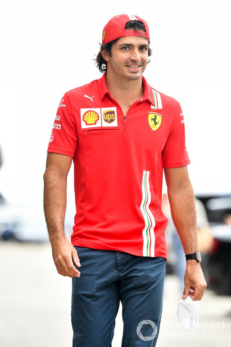 Carlos Sainz., Ferrari