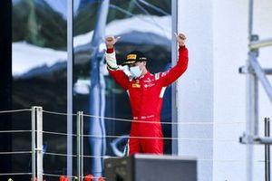 Olli Caldwell, Prema Racing festeggia sul podio