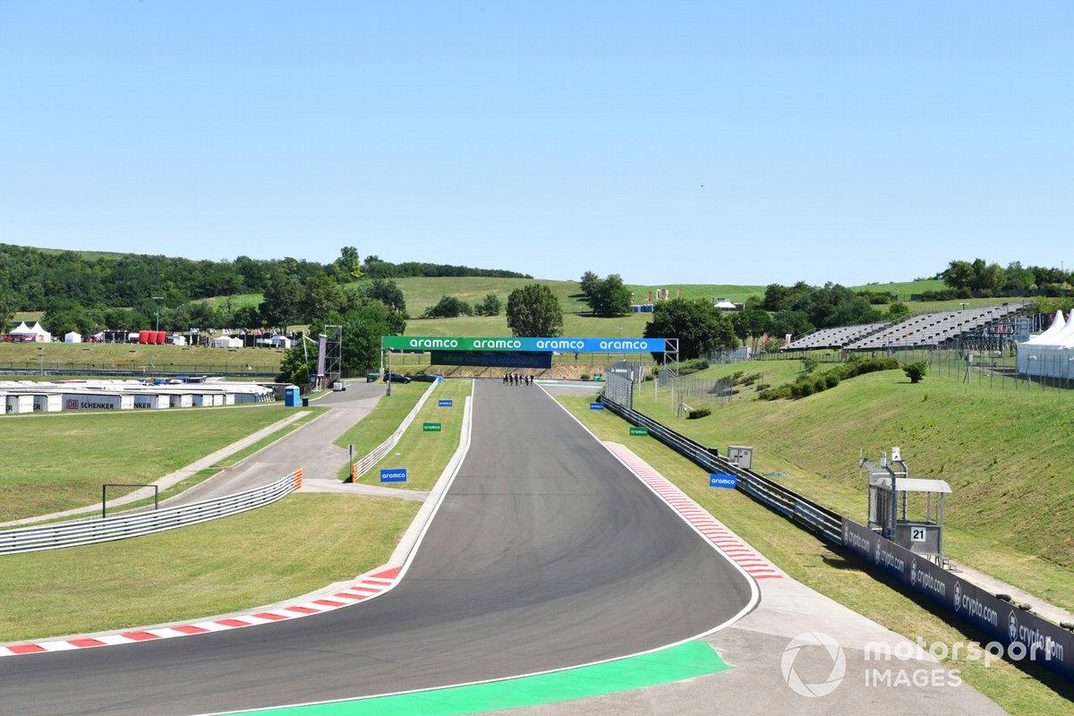 Detalles del circuito de Hungaroring