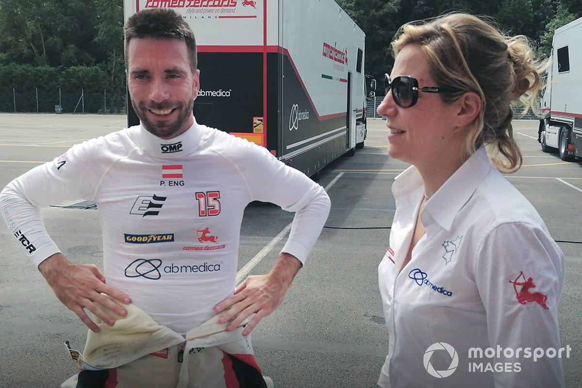 Philipp Eng, Romeo Ferraris M1RA, Michela Cerruti