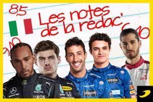 Les notes de la rédaction, Grand Prix d'Italie