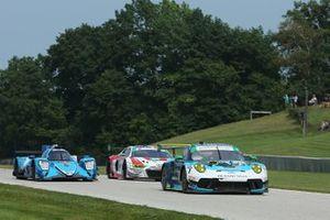 #88 Team Hardpoint EBM Porsche 911 GT3R, GTD: Rob Ferriol, Katherine Legge, #18 Era Motorsport ORECA LMP2 07: Ryan Dalziel, Dwight Merriman, #42 NTE Sport Audi R8 LMS GT3, GTD: Don Yount, JR Hildebrand