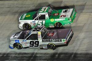 Ben Rhodes, ThorSport Racing, Toyota Tundra Bombardier LearJet 75, Drew Dollar, Kyle Busch Motorsports, Toyota Tundra Sunbelt Rentals