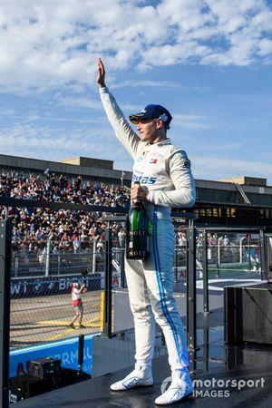 Stoffel Vandoorne, Mercedes-Benz EQ, 3a posizione, sul podio