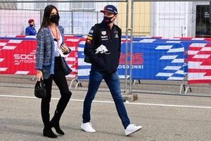 Max Verstappen, Red Bull Racing, and Kelly Piquet
