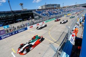 Lucas Di Grassi, Audi Sport ABT Schaeffler, Audi e-tron FE07, Edoardo Mortara, Venturi Racing, Silver Arrow 02, Norman Nato, Venturi Racing, Silver Arrow 02, al inicio
