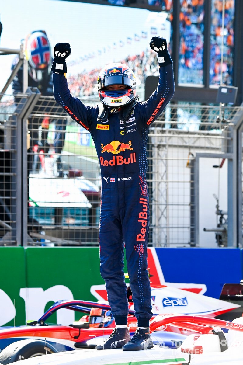 El ganador: Dennis Hauger, Prema Racing