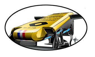 Renault R.S. 18 s-duct
