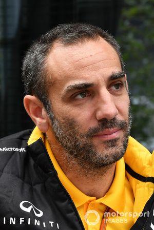 Cyril Abiteboul, directeur général Renault Sport F1