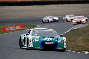 #28 Montaplast by Land-Motorsport Audi R8 LMS: Sheldon van der Linde, Kelvin van der Linde