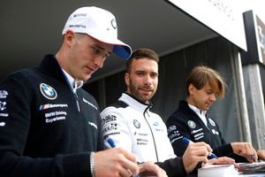 Joel Eriksson, BMW Team RBM, Philipp Eng, BMW Team RBM, Augusto Farfus, BMW Team RMG