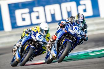 Actie op de baan tijdens Gamma Racing Day