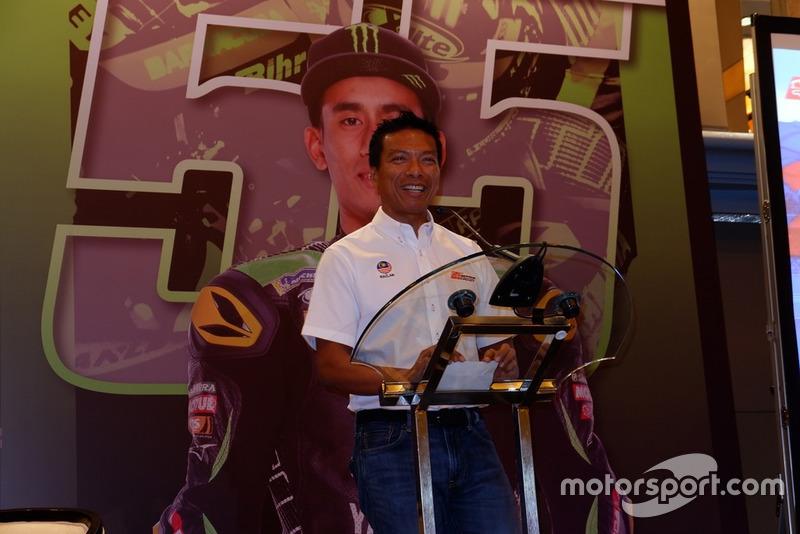 Press conference Dato' Razlan Razali, CEO Sepang International Circuit