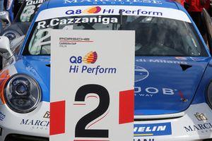 La Porsche 911 GT3 Cup di Riccardo Cazzaniga, Ghinzani Arco Motorsport
