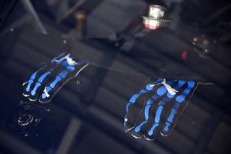 I guanti di Ryan Blaney, Team Penske, Ford Fusion PPG
