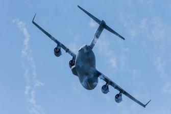 Boeing C-17 Globemaster III fly-over