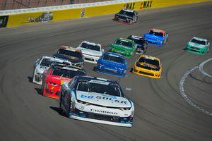 Ross Chastain, Chip Ganassi Racing, Chevrolet Camaro DC Solar, Justin Allgaier, JR Motorsports, Chevrolet Camaro BRANDT Professional Agriculture
