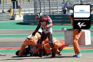 Jorge Lorenzo, Ducati Team, Aragon GP Tata Communications feature