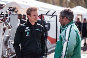 Nico Rosberg et Juan Pablo Montoya