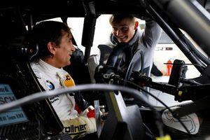 Alex Zanardi, BMW Team RMR with Billy Monger
